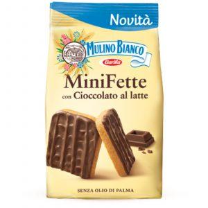 MiniFette con cioccolato al latte-Mulino Bianco-