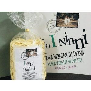 cavatelli, durum wheat semolina pasta