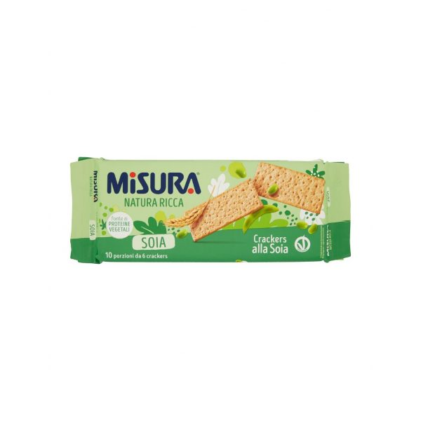 soy crackers Misura